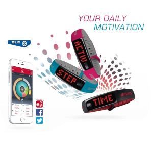 Sigma Sport/Fitness Horloge Activo Bluetooth - Berry Pink