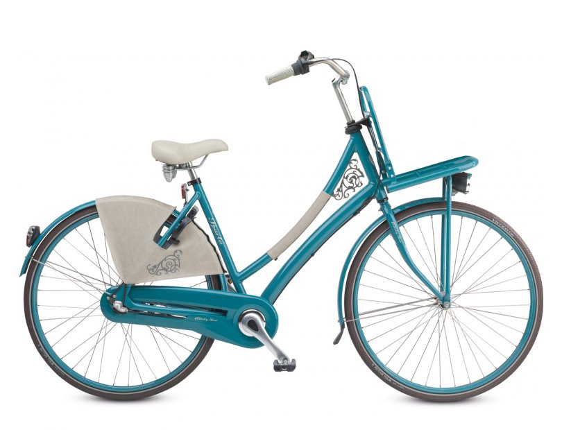 Sparta Damesfiets Country Tour 7V 53cm Turquoise