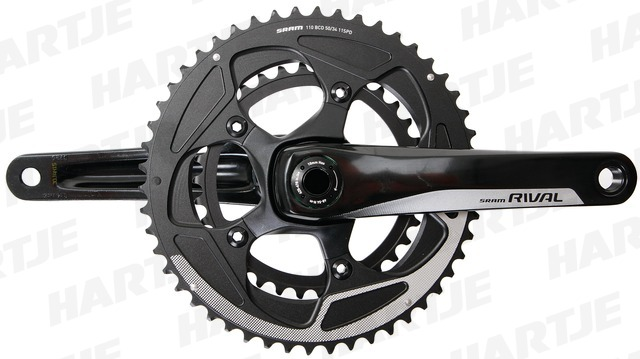 Sram Crankstel Rival 22 BB30 34/50T 175mm 11V Steek 110mm