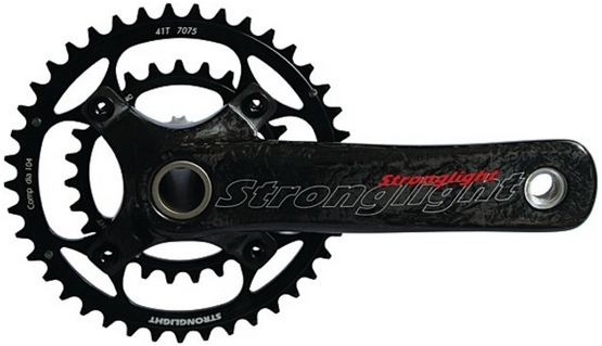 Stronglight Crankstel VisionDouble 22/36 Tands 175mm Zwart