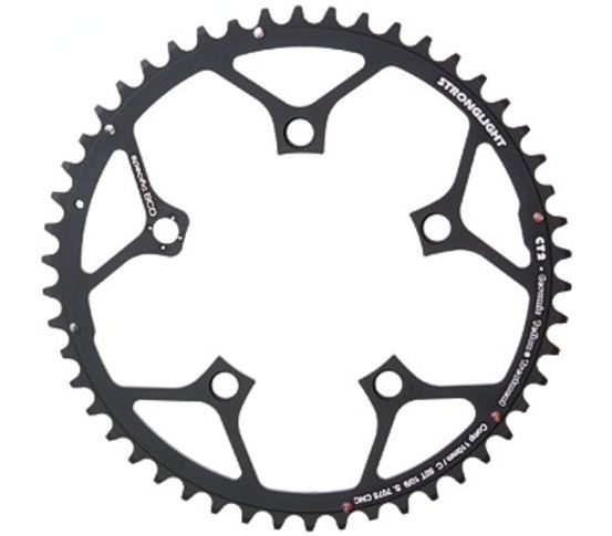 Stronglight Kettingblad CT2 34 Tands Zwart Campagnolo