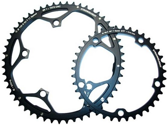 Stronglight Kettingblad E-Shifting CT2 53 Tands Dura Ace