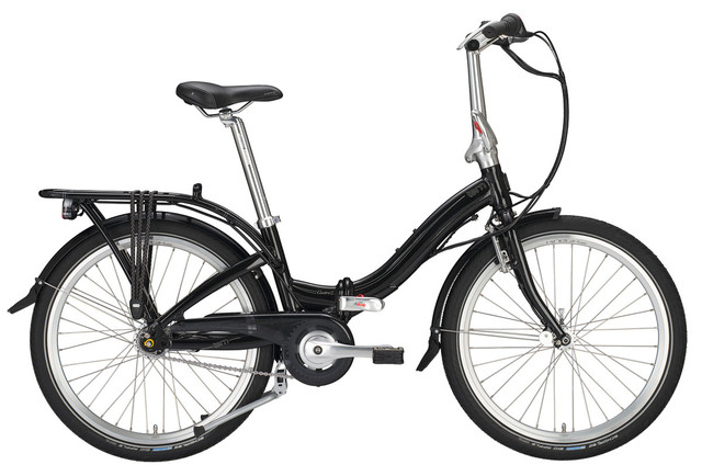 Tern Castro P7i Vouwfiets DR 24 Inch 7V - Wit/Bruin