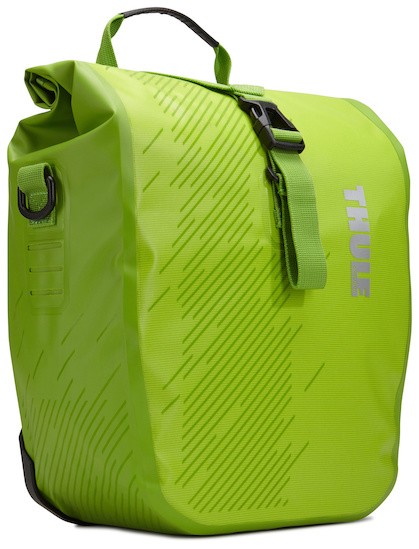 Thule Pakaftas Set Shield Pannier Small Chartreuse