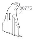 Thule SP 30775 tbv. GutterFoot 9511-9522/9531/9532