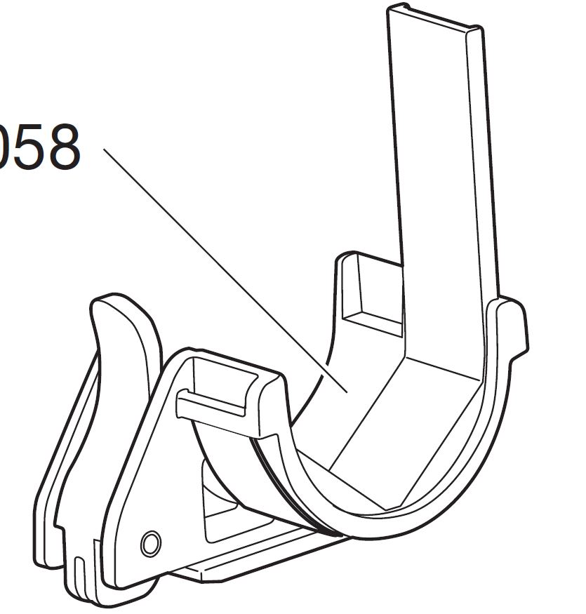 Thule Spare Part 50058 - tbv. Sailboard Carrier 833
