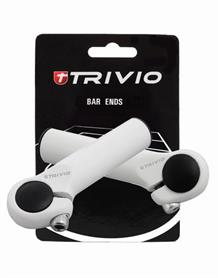Trivio Bar Ends Basic 95mm - Wit