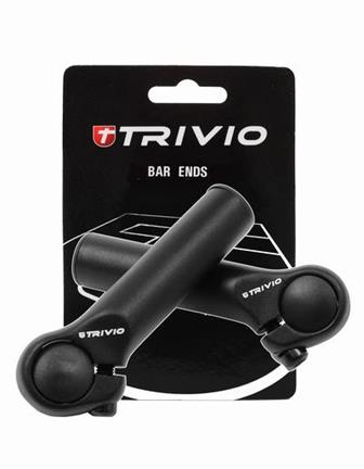Trivio Bar Ends Basic 95mm - Zwart