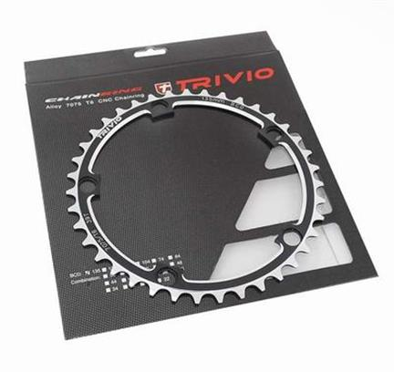 Trivio Kettingblad Race 39T Steek 135 5-Arm Zwart