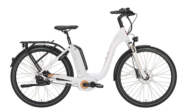 Victoria E-Bike e Manufaktur 9.8 Wave 49cm NuVi - Wit