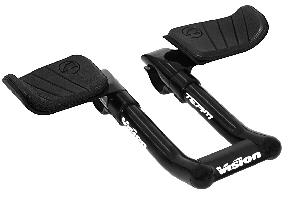 Vision Team Stuur 31.8mm Clip-On 170mm - Zwart