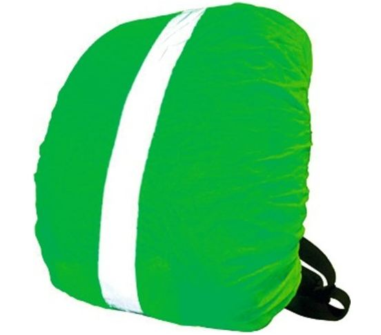 Wowow Reflectie Rugzakhoes Bag Cover 35x48x16cm Groen