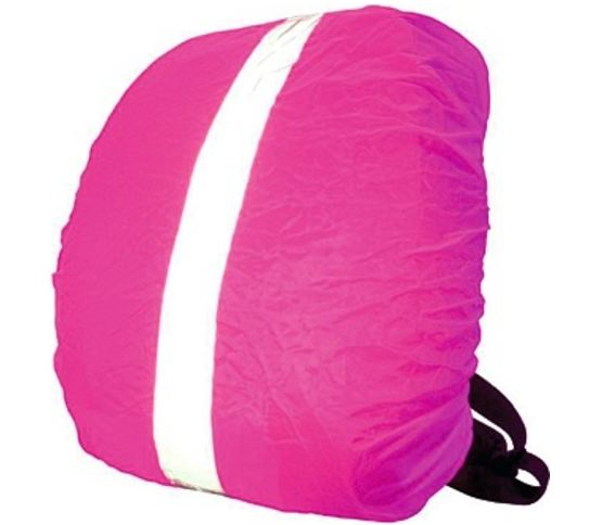 Wowow Reflectie Rugzakhoes Bag Cover 35x48x16cm Roze