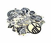 BMX Sticker Set