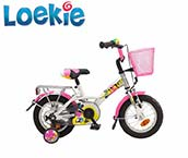 Loekie 12 Inch Children's Bike