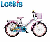 Loekie 18 Inch Children's Bike
