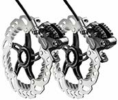 MTB Disc Brake Set Front + Rear