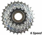 MTB Freewheel 6 Speed