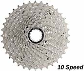 Racefiets Cassette 10 Speed