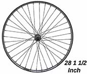 Rear Wheel Dutch Bike 28 1 1/2