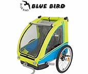 Rimorchio Bici Blue Bird