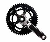 Road Crankset Double Speed