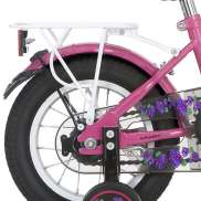Alpina Bagagedrager 12 Inch Girlpower - Wit