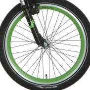 Alpina Front Wheel 20 Inch Trial - Green/Silver