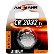 Ansmann CR2032 Button Cell Battery 3V - Silver