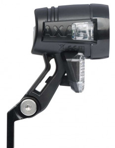 AXA Koplamp Blueline 30 LED Switch Standlicht Sensor - Zwart