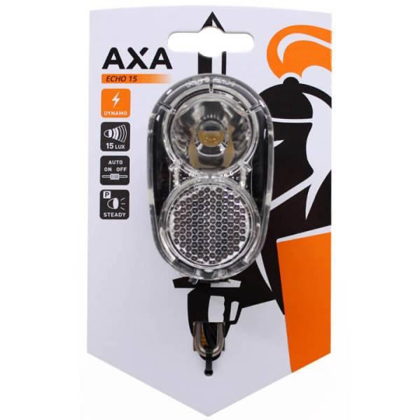 axa scheinwerfer echo15 steady auto led dynamo an aus. Black Bedroom Furniture Sets. Home Design Ideas