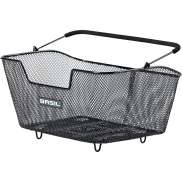 Basil Base M Bicycle Basket For Rear Detachable Black - 14L