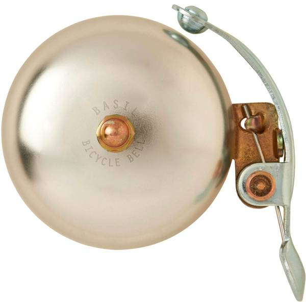 Basil Bicycle Bell Portland 55mm Aluminum - Silver | Bells