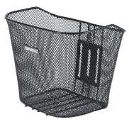 Basil Bremen Bicycle Basket Fixed Assembly - Black