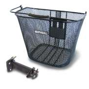 Basil Bremen Bicycle Basket + Holder BasEasy - Black