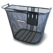 Basil Bremen Bicycle Basket KlickFix - Black