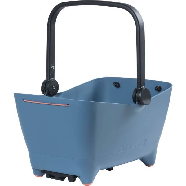 Buy Basil Buddy Pet Basket For Rear With Attachment - Blue at HBS