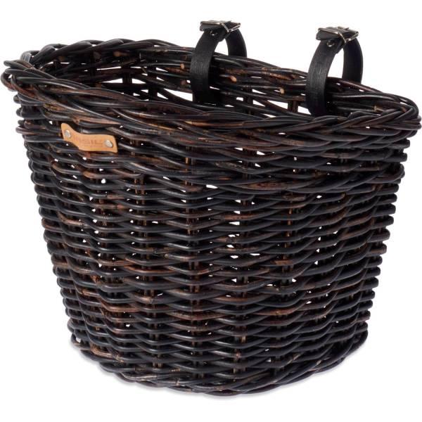 basil darcy rattan fahrradkorb gro schwarz kaufen bei hbs. Black Bedroom Furniture Sets. Home Design Ideas