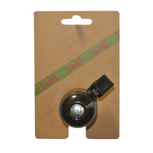 Belll Dark Wood T11 Bicycle Bell Steel - Dark Brown | Bells