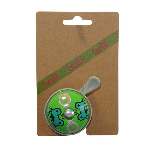 Belll Frog Bicycle Bell - Green | Bells