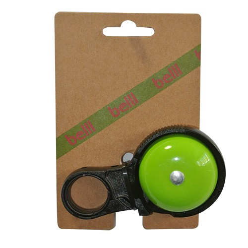 Belll Klik It! Bicycle Bell Aluminum - Green | Bells