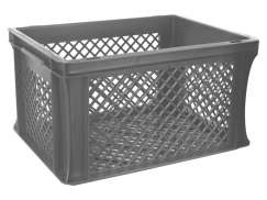 Bicycle Crate Junior 22x29.5x40cm - Gray