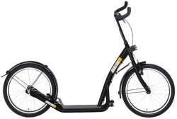 Bike 2 Go Kick Scooter City Roller 20 Inch - Black