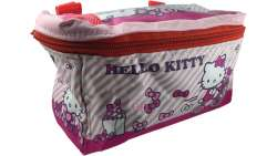 Bike Fashion Childrens Handlebar Bag Hello Kitty Pink