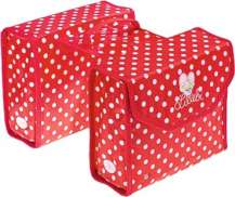 Bike Fashion Double Childrens Pannier Lillebi Red