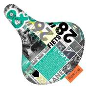 BikeCap Saddle Cover Bike News - Multicolor