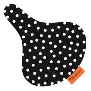 BikeCap Saddle Cover Black Dot
