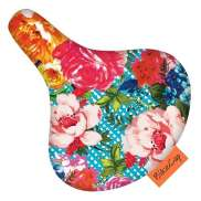 BikeCap Saddle Cover Blooom - Multicolor