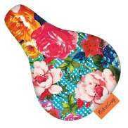 BikeCap Saddle Cover Children´S Bicycle Blooom - Multicolor
