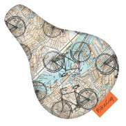 BikeCap Saddle Cover Children´S Bicycle On The Road